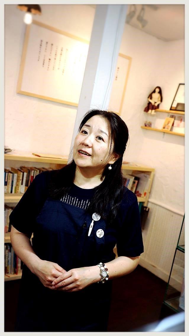 俊カフェ店主古川奈央さん